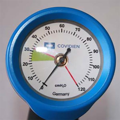 Манометр для контроля давления в манжете трахеостомическкой